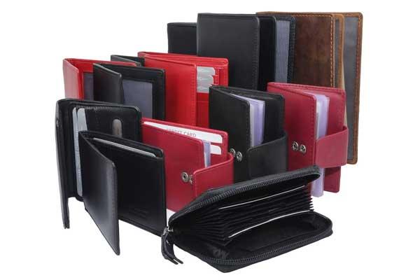 Brieftaschen Scheckkartenetuis