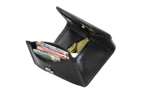 Kleine Geldbörse mini Schwarz