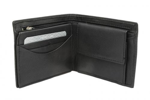 Avanco Lederbörse Reißverschluss