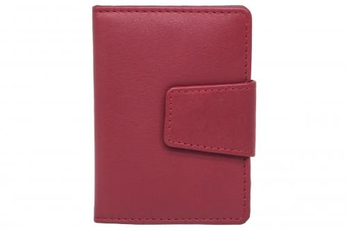 Hochformat Kartenetui Rot