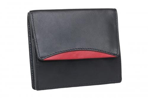 Wiener Schachtel Elegant Schwarz-Rot
