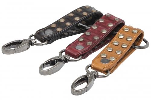 Leder-Schlüsselanhänger