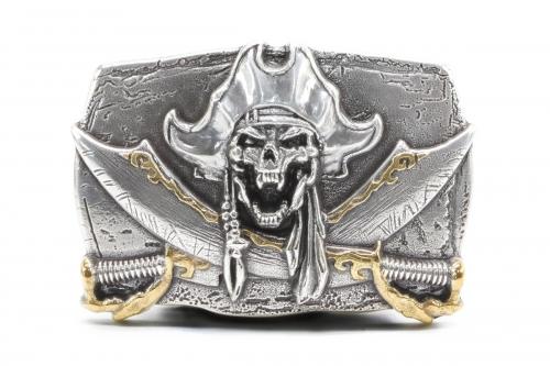 Pirat Skull Totenkopf Wechselschließe