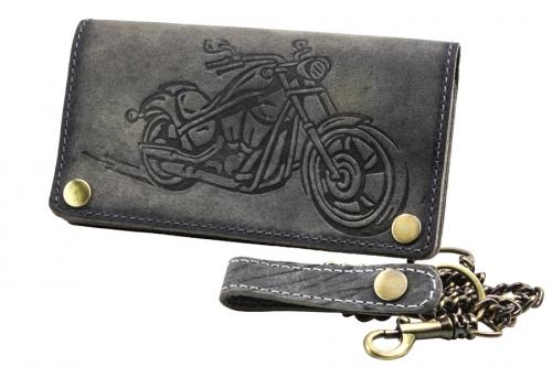 Bikerbörse Motorrad Prägung Grau
