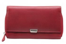 Massala klassische Damenbörse Kirsch-Rot