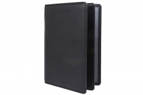 Brieftasche Klassik Herren schwarz