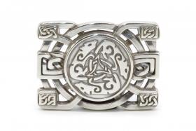 Celtic Buckle Keltischer Hund Gürtelschließe