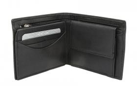 Avanco Geldbörse Reißverschluss im Scheinfach